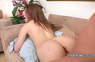 Slutty redhead Lucie Mae gets her sweet pussy pounded