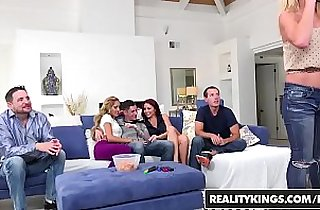 RealityKings Sneaky Sex Brad Knight Chloe Amour Monique Alexander Sne Game Night