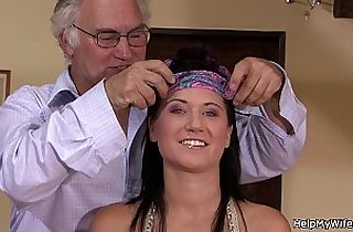 Cuckold surprise for young wife