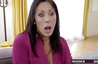 MomsTeachSex Step Mom And Son Cum Together