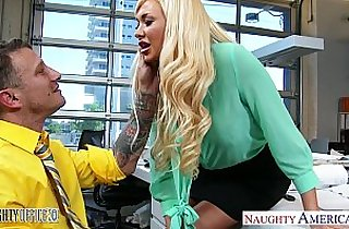 Superb office babe Summer Brielle gets her pussy nailed