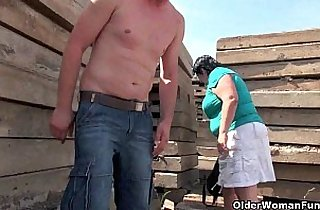 chinese mother, grannies, hornylesbo, mature asia, nippled, old-young, outdoor