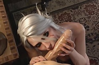 Witcher Porn Ciri Blowjob DeepThroat FULL GAME