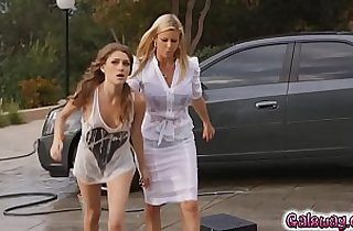Control and discipline makes the lesbian Milf Alexis horny