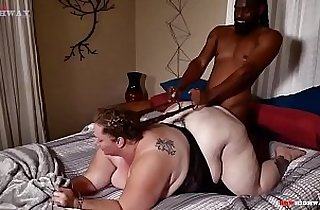 Big booty getting drilled by black bf big cock