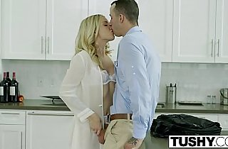 TUSHY Bosses Wife Karla Kush First Time ever Anal With Office Assistant