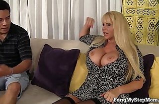 Voluptuous MILF Has Sex With Step son!