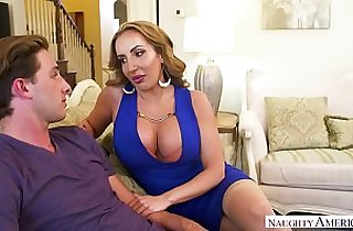 MILF Ryan needs young cock! Naughty America