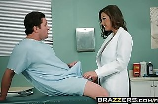 Doctor in sex Adventures Ride It Out scene starring Abigail Mac and Preston Parker