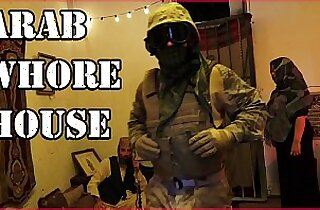 TOUR OF BOOTY American Soldiers Slinging Dick In An Arab Whorehouse