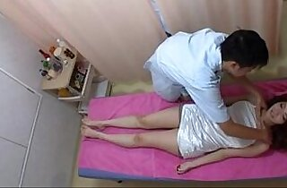 Amazely Sexy Asian Girl Gets Excited in Massage Session