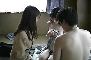 Japanese family threesome uncensored