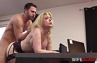 Young Office Assistant Fucked By Cheating horny Wife Nina Hartley