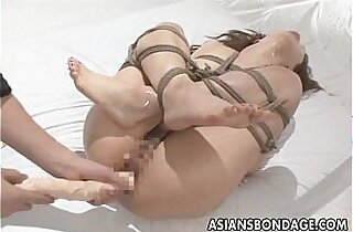 Tied and fucked very hard