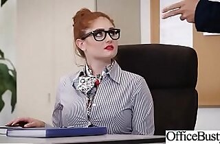 Hard Sex Tape In Office With Big Round Tits Sexy amateur Girl Lennox Luxe video 19